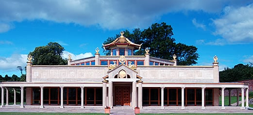 The First Kadampa Temple