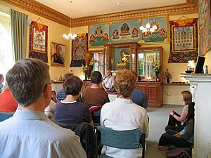 Aulas de Meditação