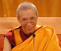 Venerable Geshe Kelsang Gyatso, author of How to Transform Your Life