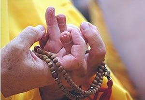 Les pratiques bouddhistes kadampas