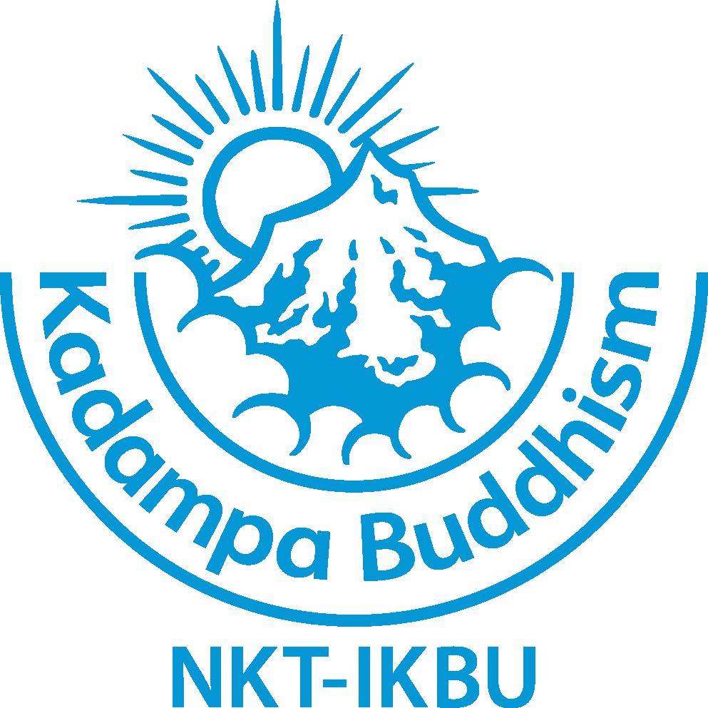 New NKT-IKBU Logo Kadampa Blue