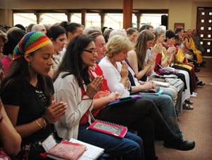 Eine weltweite spirituelle Gemeinschaft