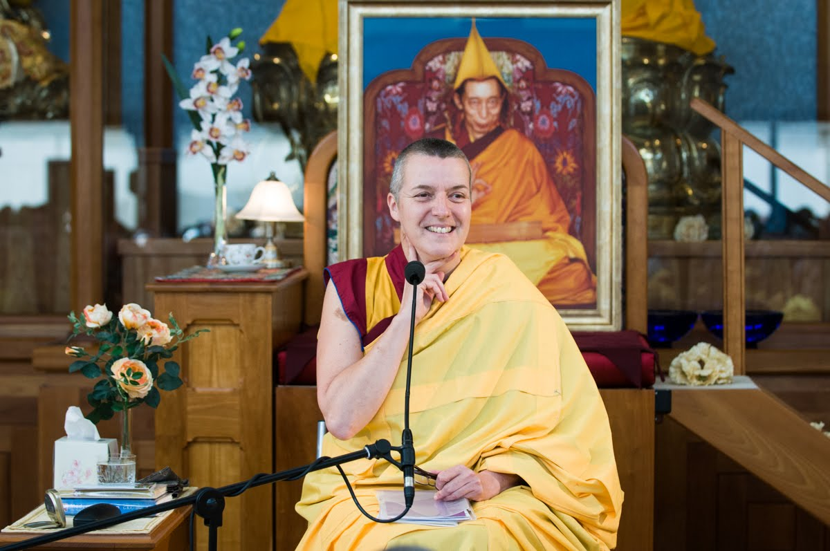 Thinking about death - Gen-la Kelsang Dekyong