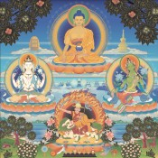 The Four Kadampa Deities