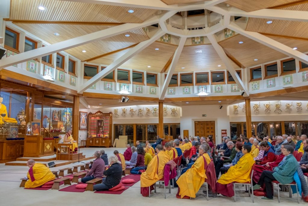 15-January Retreat Introduction 2019-01-18 with Gen-la Dekyong (Norbu Photos)-24