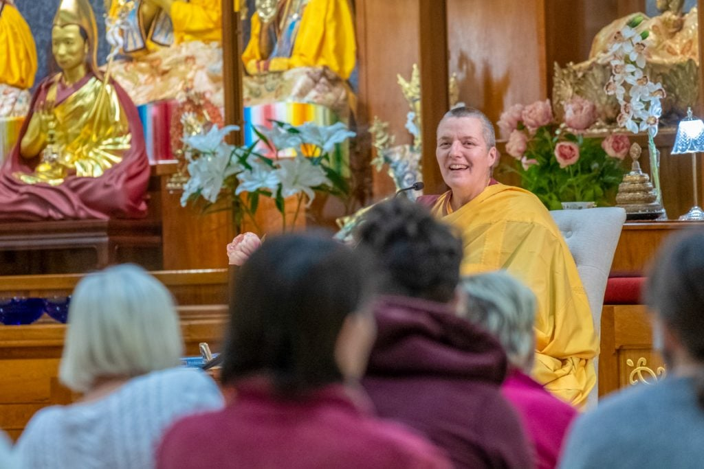 17-January Retreat Introduction 2019-01-18 with Gen-la Dekyong (Norbu Photos)-33