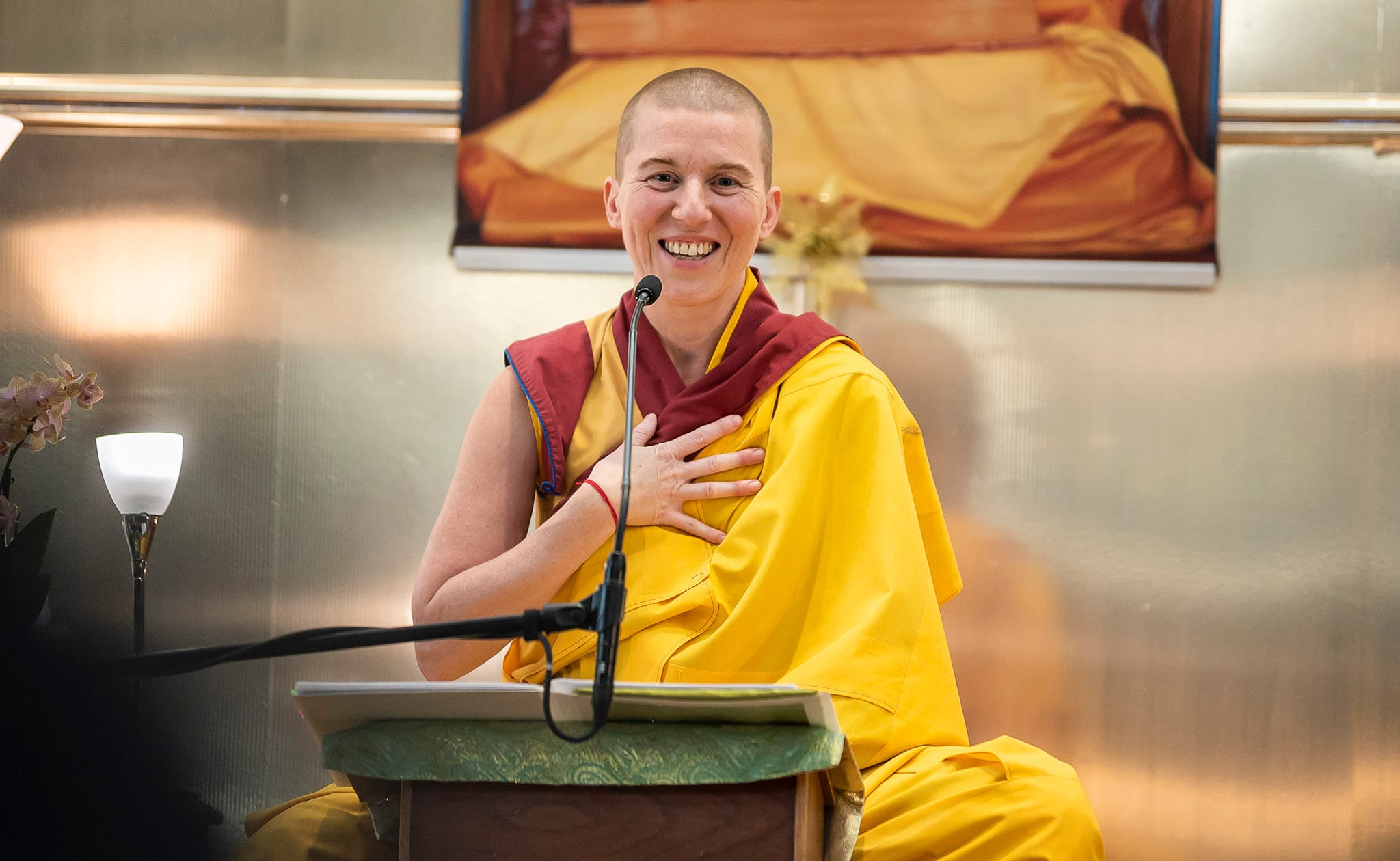 Gen Kelsang Sangden, National Spiritual Director Mexico