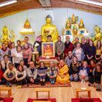 Group photograph meditation hall