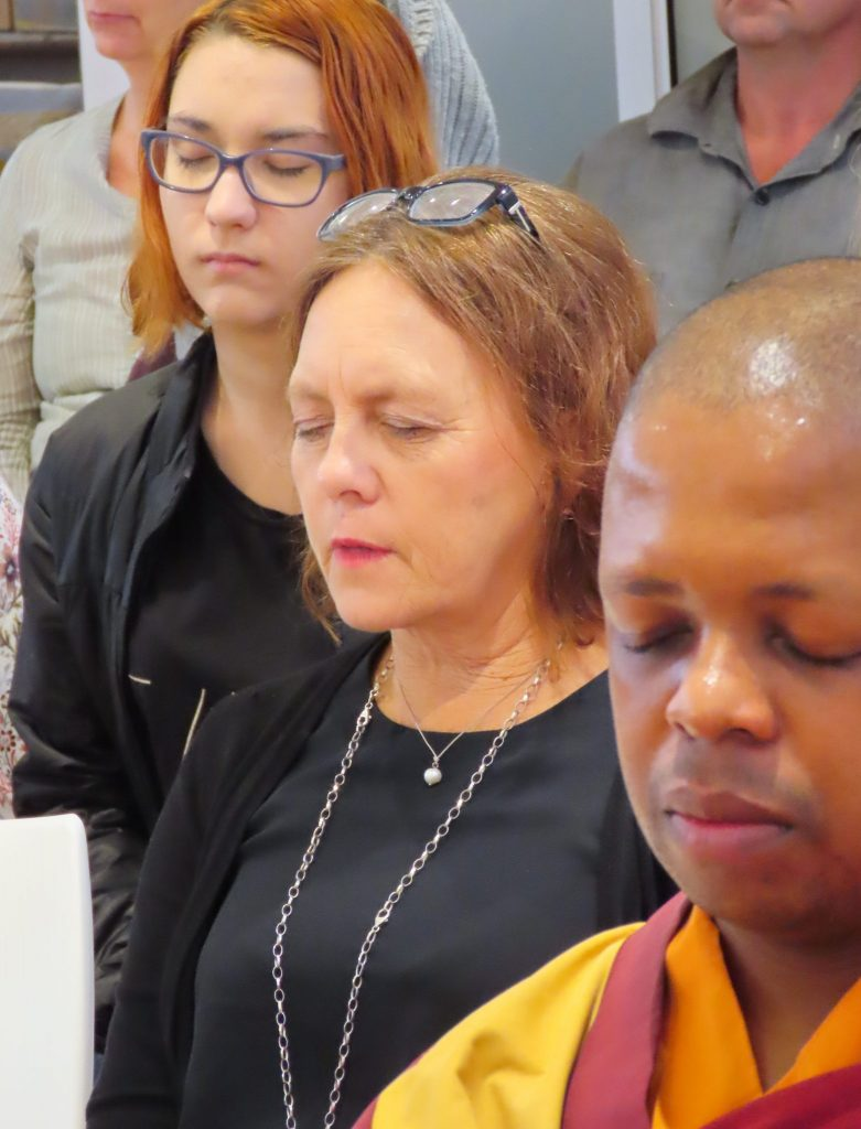 People meditating SouthAfricanFestival