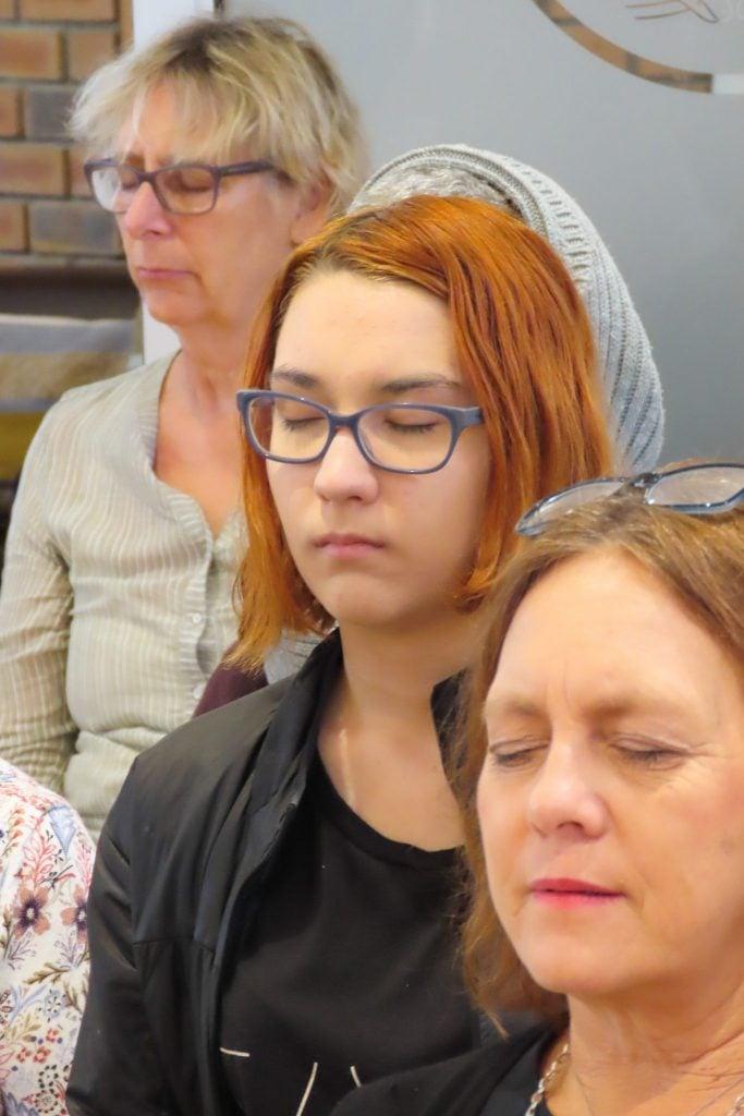 Women meditating SouthAfricanFestival