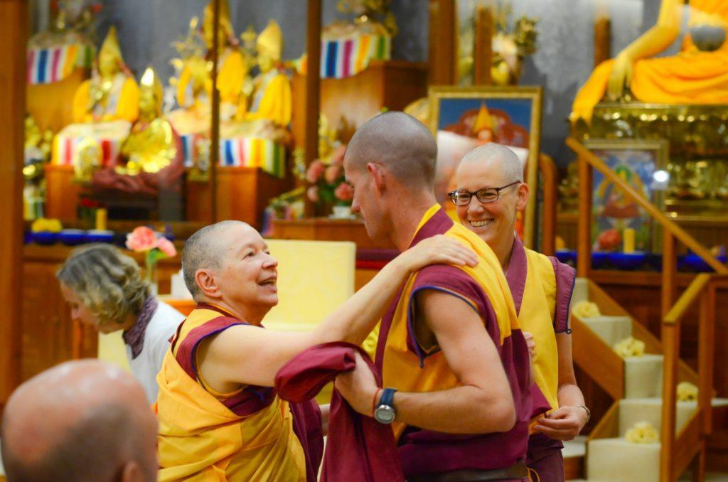sab 29-junho-Sangha-conversando-ITTP-Manjushri
