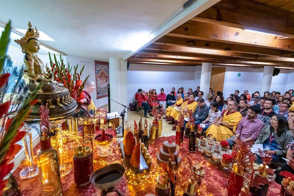 Shrine-table audience Mexico