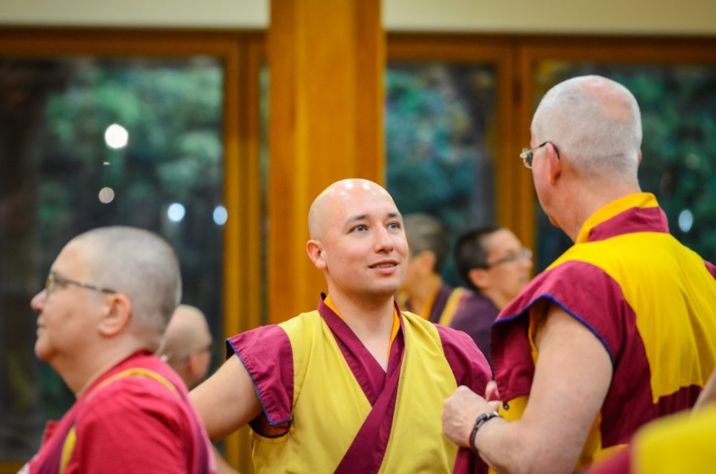 sab 29-Sangha-conversando-ITTP-Manjushri