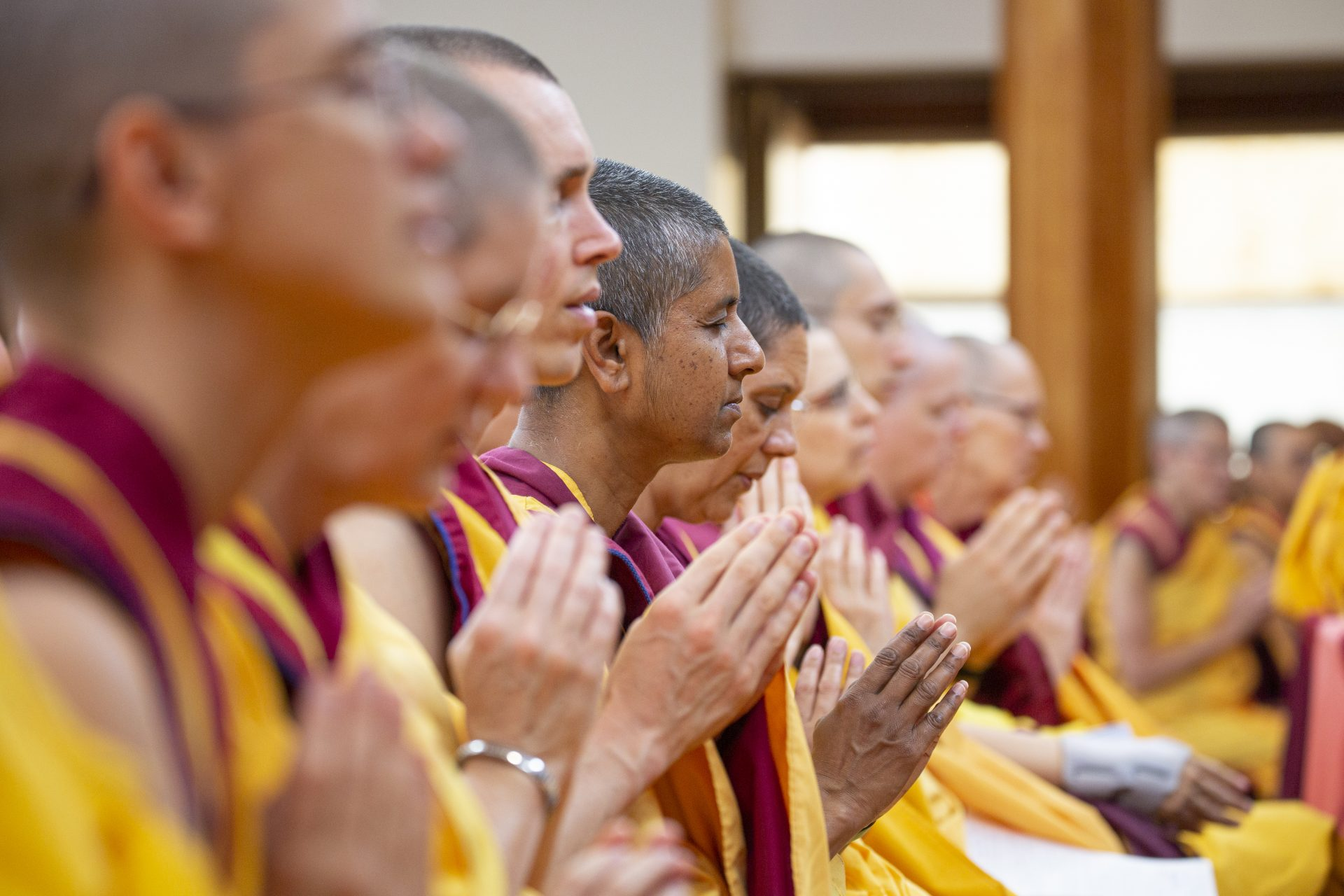 Sangha-praying_festival