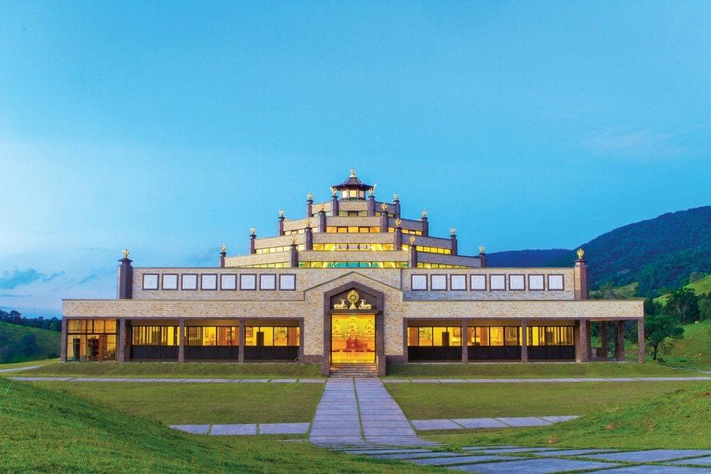 1-Brazil Temple at Dusk 2013-
