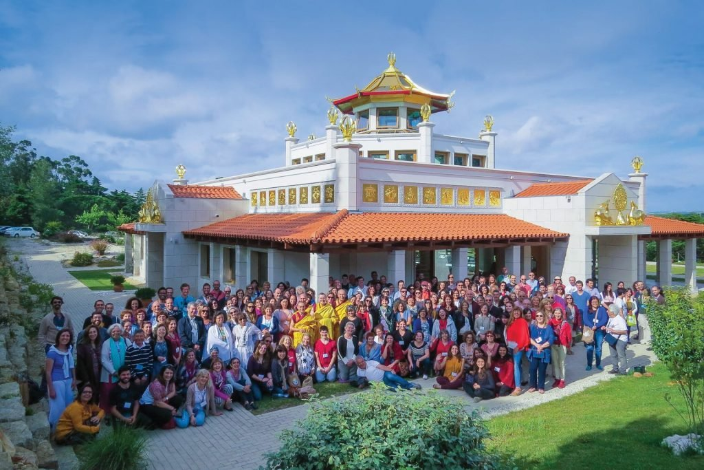 2-Portuguese Festival 2016 Temple with Gen-la Dekyong-workaday-for-world-peace