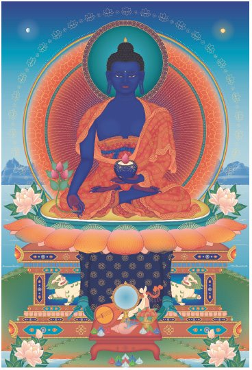 Medicine Buddha - MADC Dharma Celebration