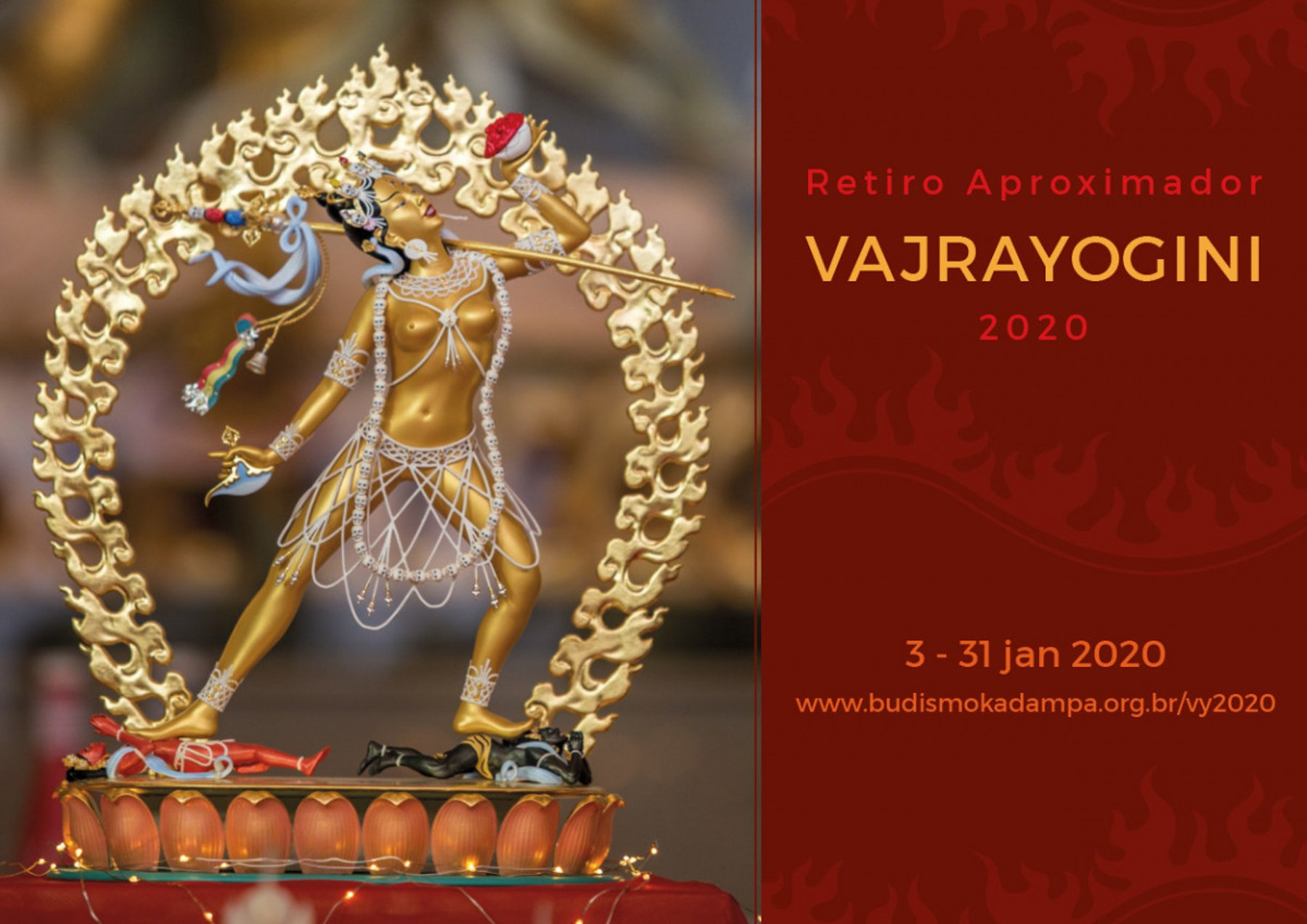 26-January Vajrayogini Retreat - Brazil