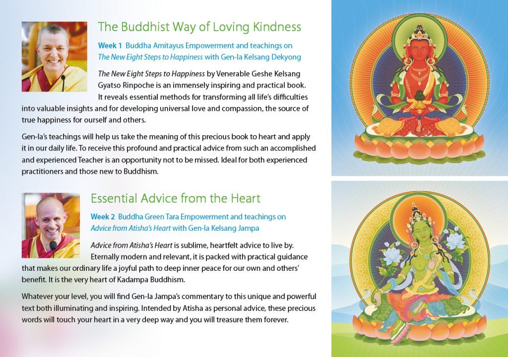 Kadampa Buddhism Worldwide Brochure 202013