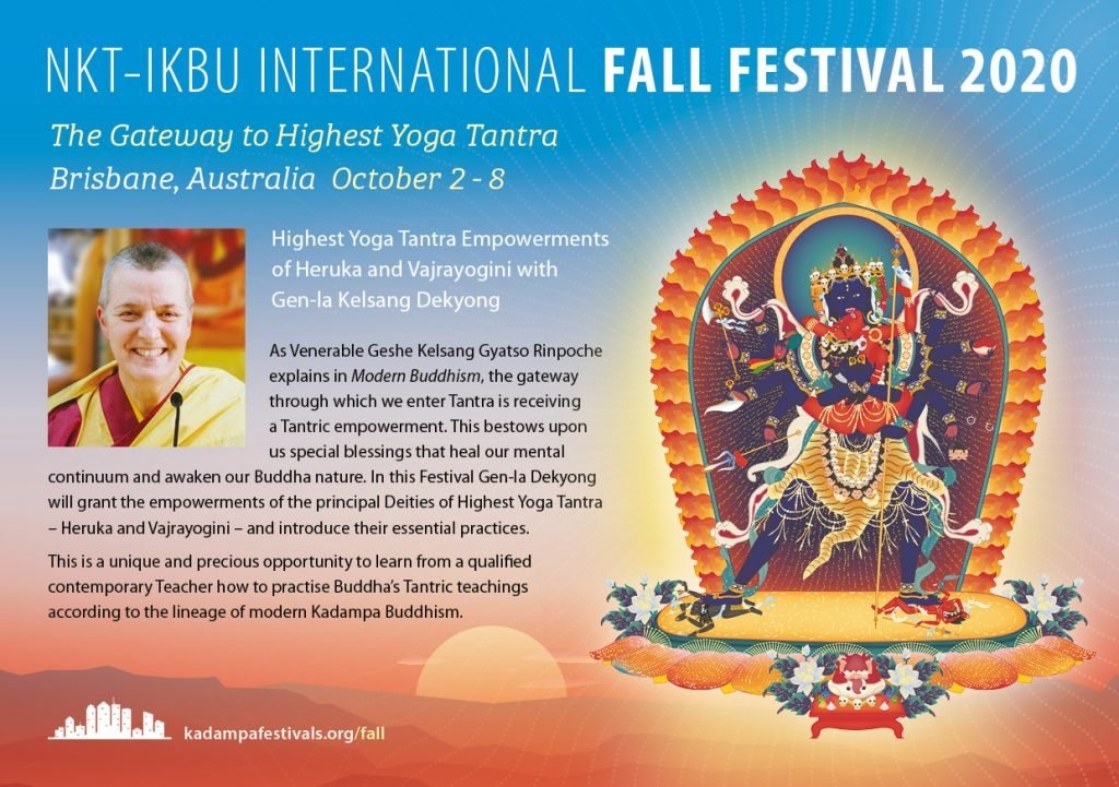 Kadampa Buddhism Worldwide Brochure 202014