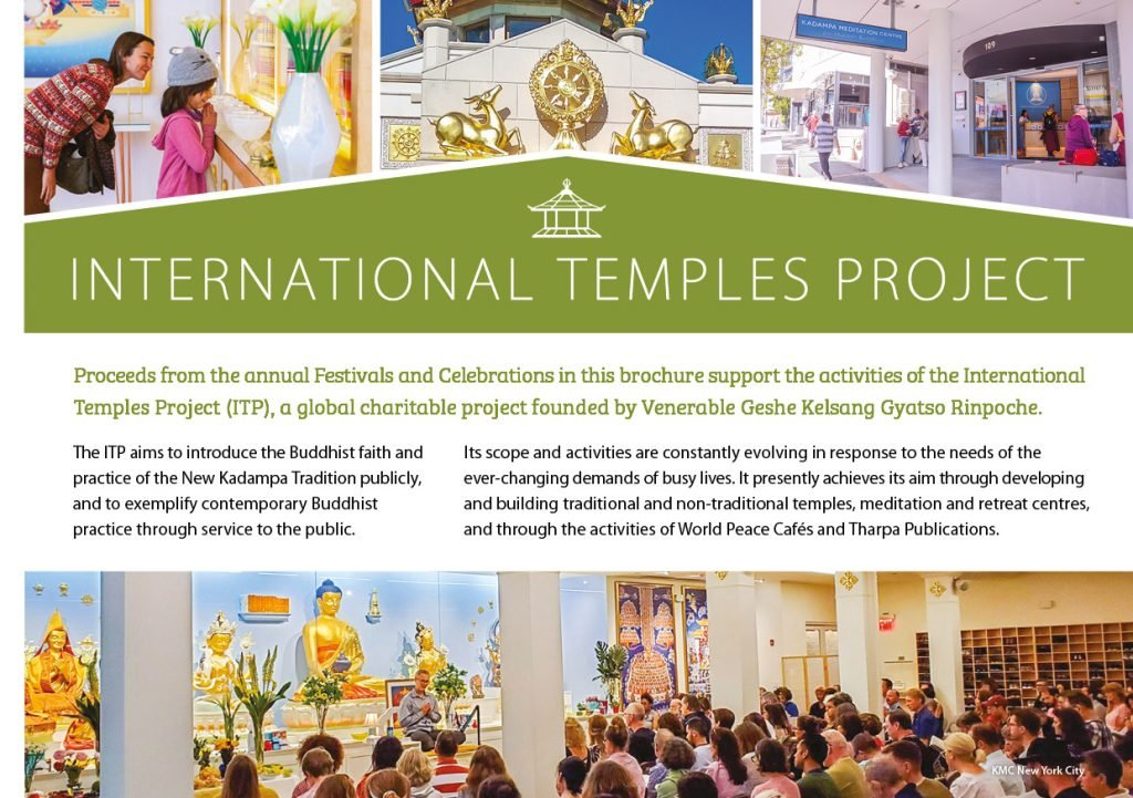 Kadampa Buddhism Worldwide Brochure 202015
