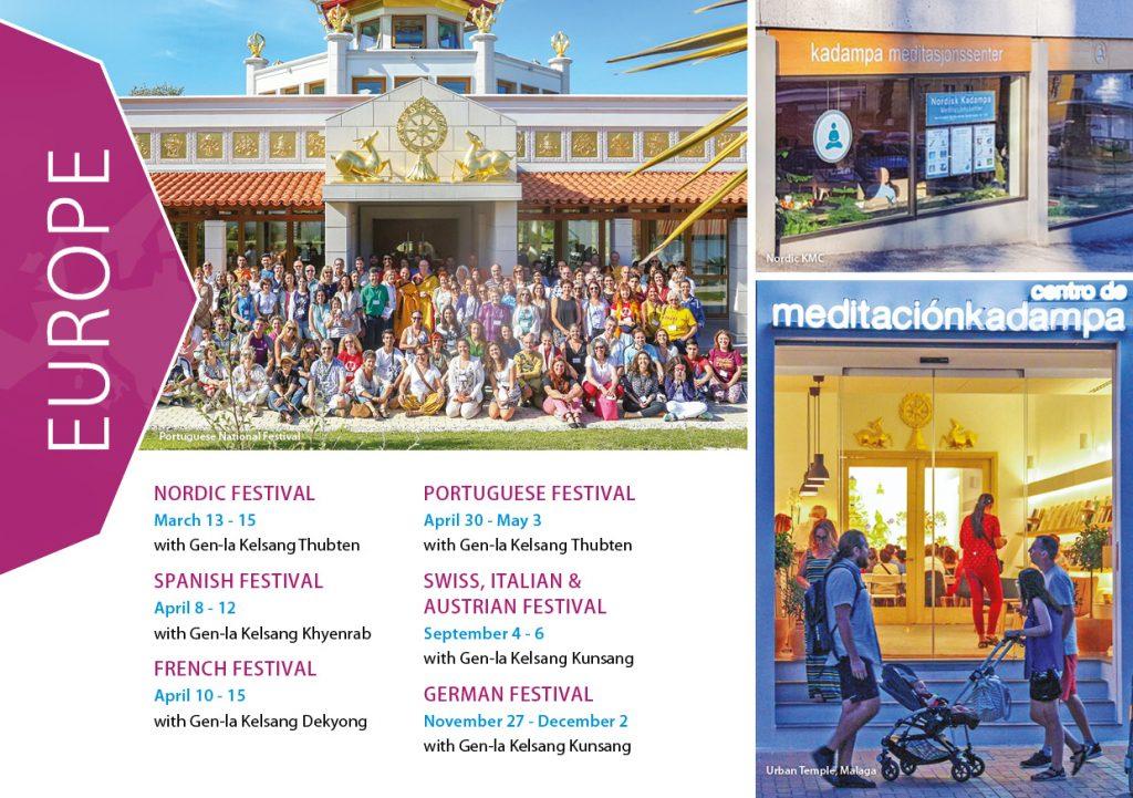 Kadampa Buddhism Worldwide Brochure 202018