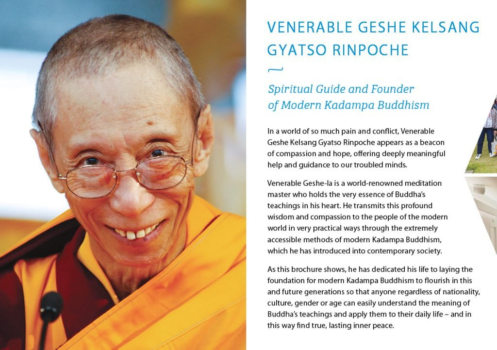 Kadampa Buddhism Worldwide Brochure 20202
