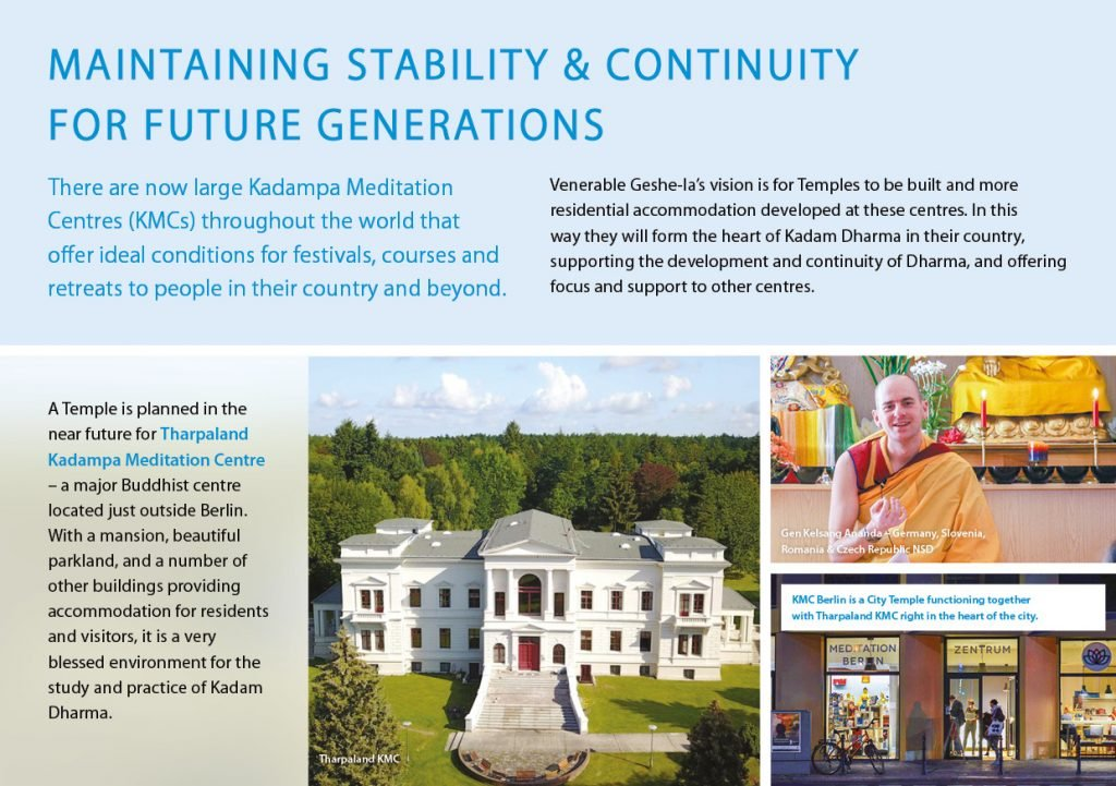 Kadampa Buddhism Worldwide Brochure 202028