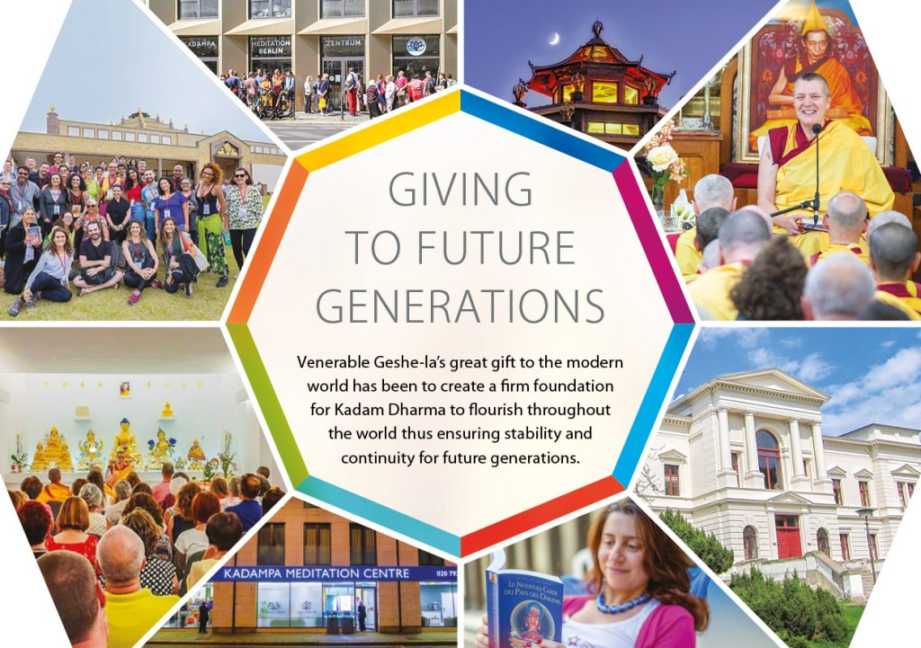Kadampa Buddhism Worldwide Brochure 20203