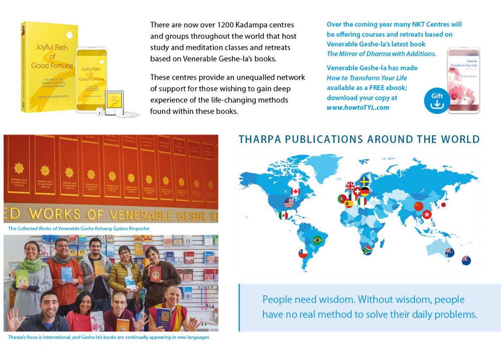 Kadampa Buddhism Worldwide Brochure 202033