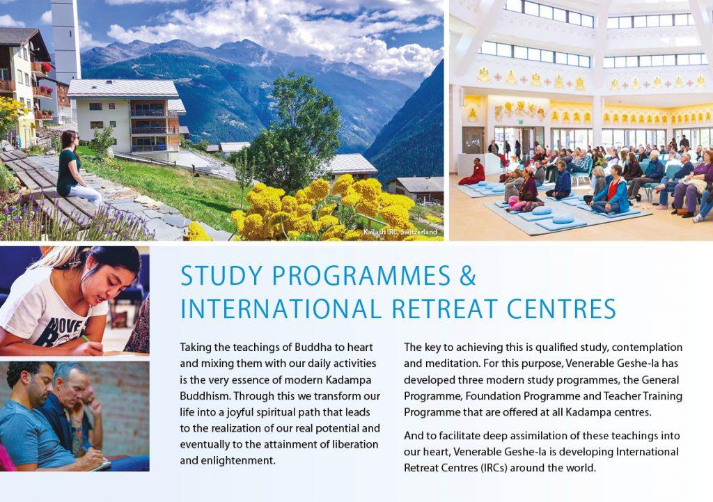 Kadampa Buddhism Worldwide Brochure 202034