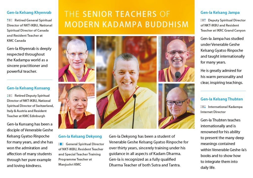 Kadampa Buddhism Worldwide Brochure 20206