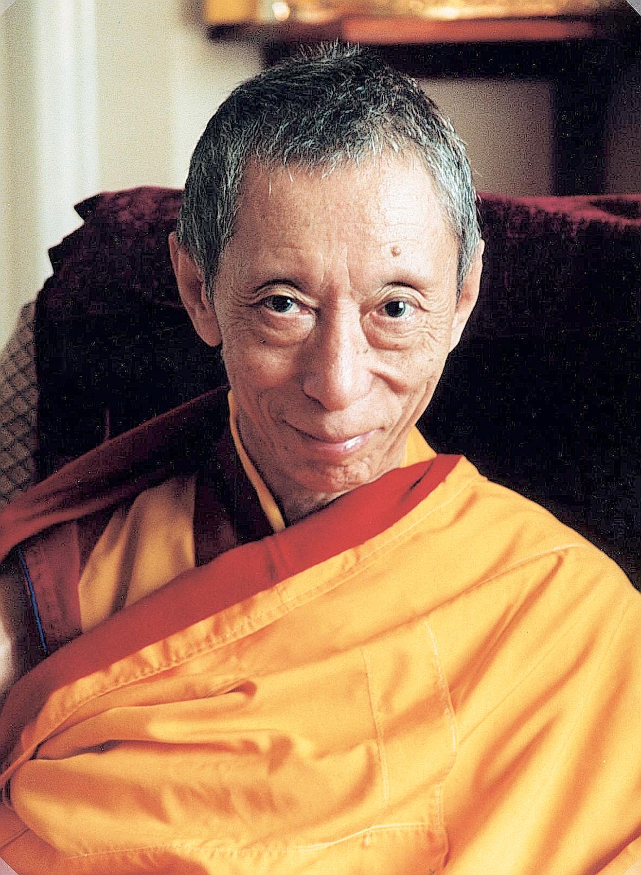 Venerável Geshe Kelsang Gyatso Rinpoche
