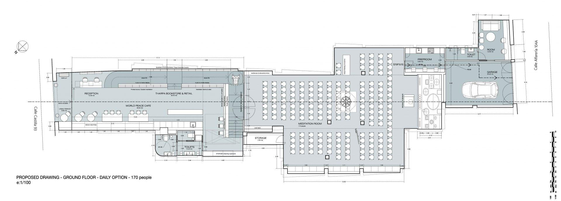 Sevilla-City Temple-Floor map