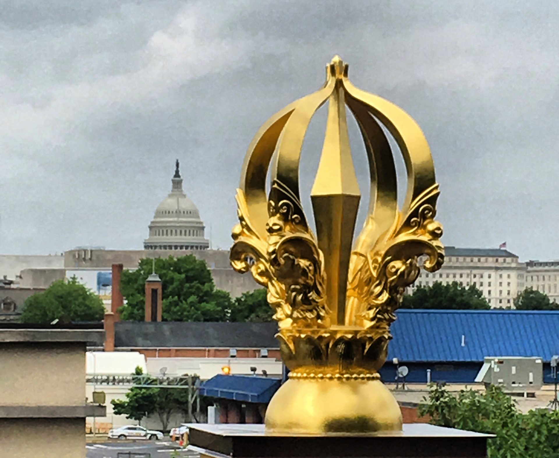 Vajra & US Capitol