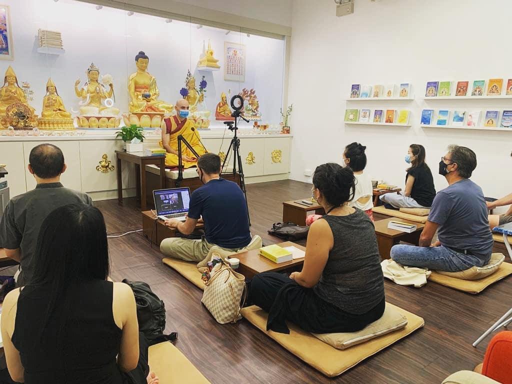 Kelsang Rabka, Kadampa Meditation Centre Hong Kong