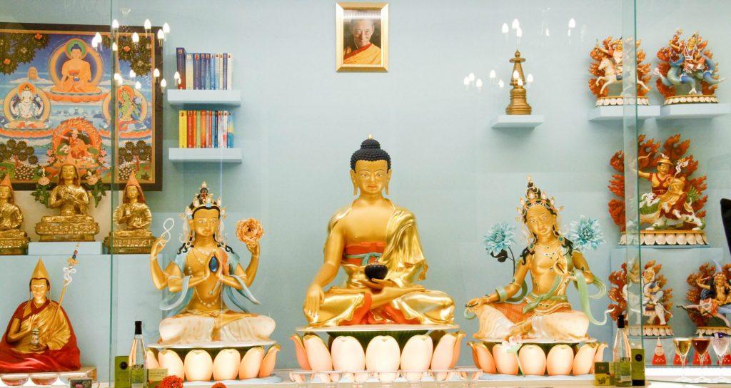 Current shrine at Tara IKRC