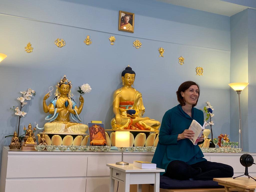Tiphaine, Kadampa Meditation Center Boston (USA)