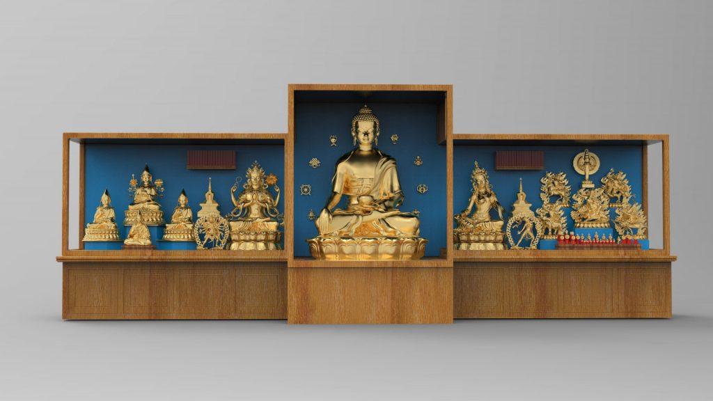 Proposed shrine rendering