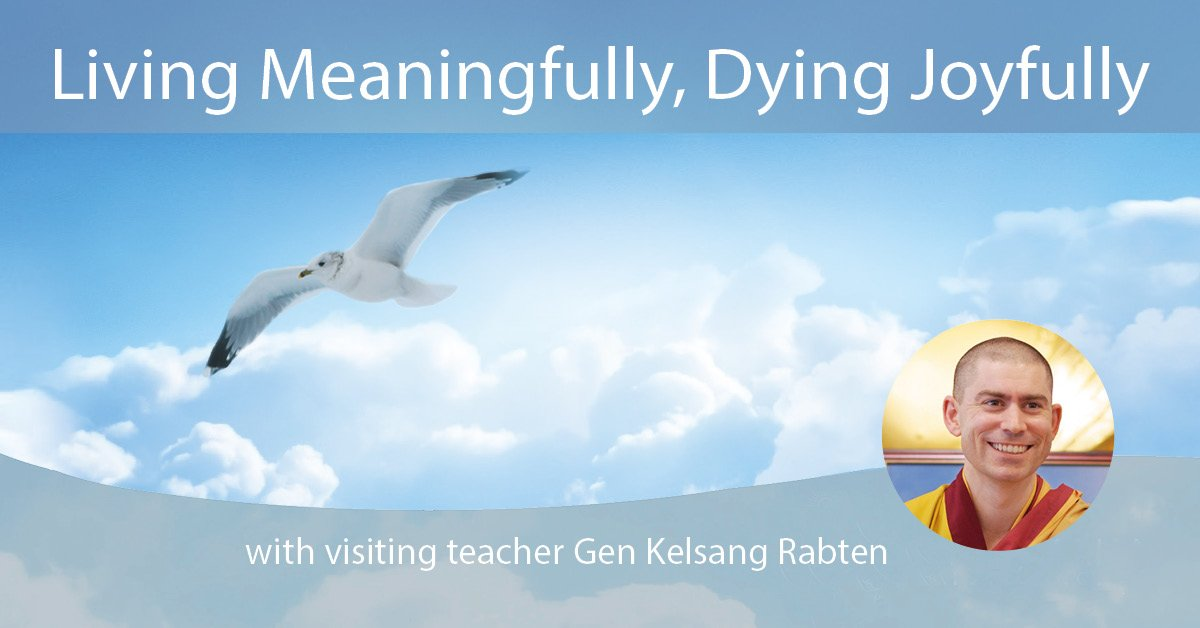 Upcoming course with Gen Rabten