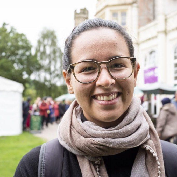 Ana_smiling_festival