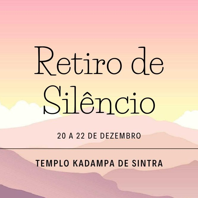 Silent Retreat, Sintra 2019